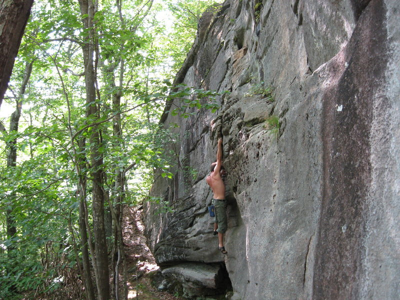 Rock Climbing Photo: Mr Bojangles