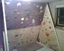 Rock Climbing Photo: Freestanding wall