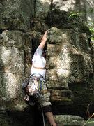 Rock Climbing Photo: Start to Chicken Leg Landry