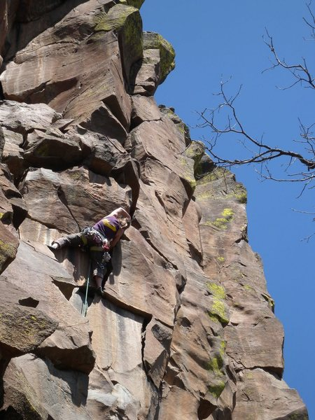 Rock Climbing Photo: Devil's Deed