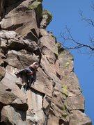 Rock Climbing Photo: Devil's Deed