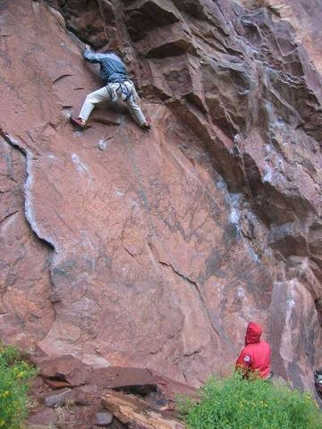 Rock Climbing Photo: Easy pickins