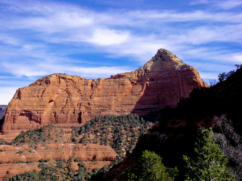 Rock Climbing Photo: I think this is the west face of Flying Buttress, ...