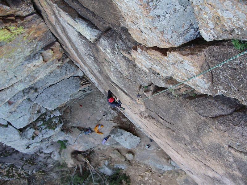 "Rock Climbing Photo: ""Crazy Alice,"" March 2010"