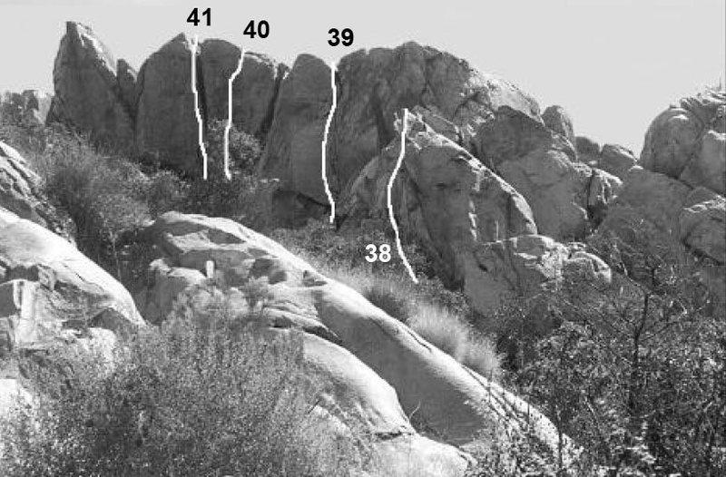 Rock Climbing Photo: 41- Orc 39- Cirith Ungol ( fun 5.6)