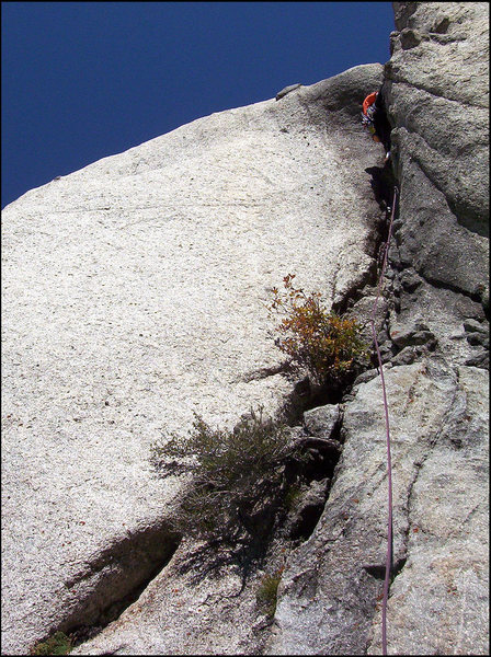 Rock Climbing Photo: a good place to take a rest?