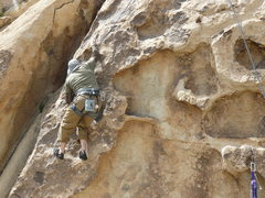 Rock Climbing Photo: Cody Dolnick on Not that good, but not that bad ei...