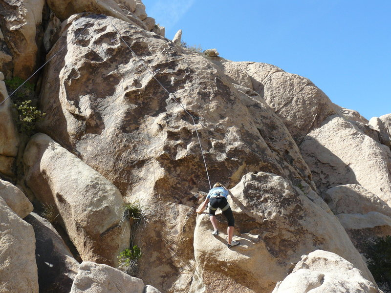 Rock Climbing Photo: Sidestep