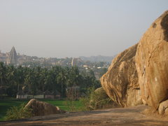 Rock Climbing Photo: Hampi, India