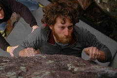 Rock Climbing Photo: Dave sending Jenga