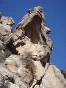 Rock Climbing Photo: the pinnacle toprope