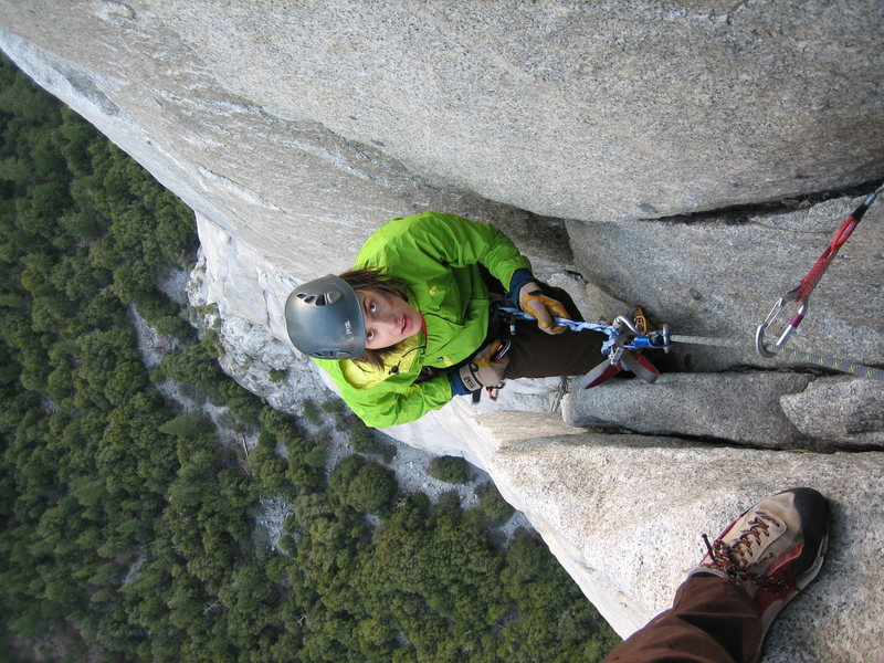 Rock Climbing Photo: The Nose, El Cap