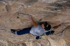 Rock Climbing Photo: On lead, Flatland Fever