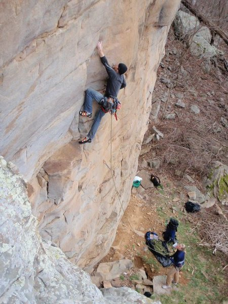 Rock Climbing Photo: Rhoads in AR.