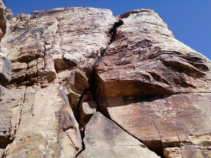 Rock Climbing Photo: Closer shot of Rock!! n' Roll.