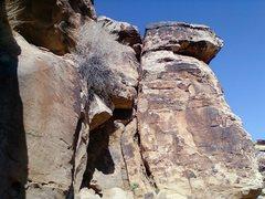 Rock Climbing Photo: Washingtons' Wig