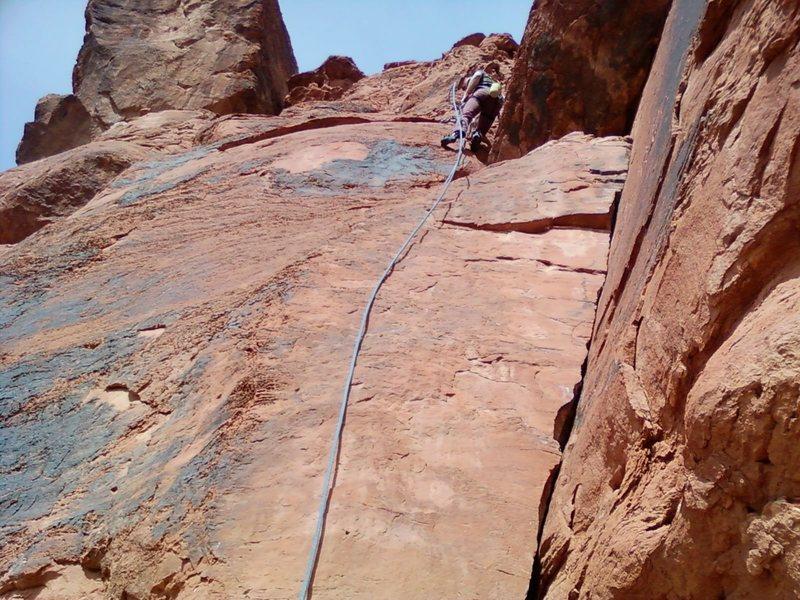 Joseph Meeks route.  Ryan Meeks Cleaning it.