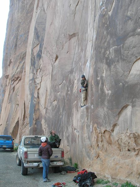 Rock Climbing Photo: Perhaps the best part of this climb is belaying ou...