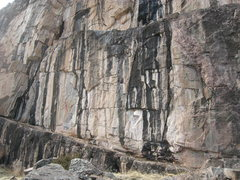 Rock Climbing Photo: The lower tier of the Main Wall is home to several...