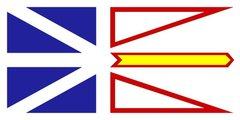 Rock Climbing Photo: The flag of Newfoundland and Labrador