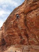 Rock Climbing Photo: Killer at the top