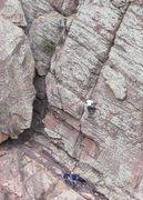 Rock Climbing Photo: The Bomb (March, 2010).