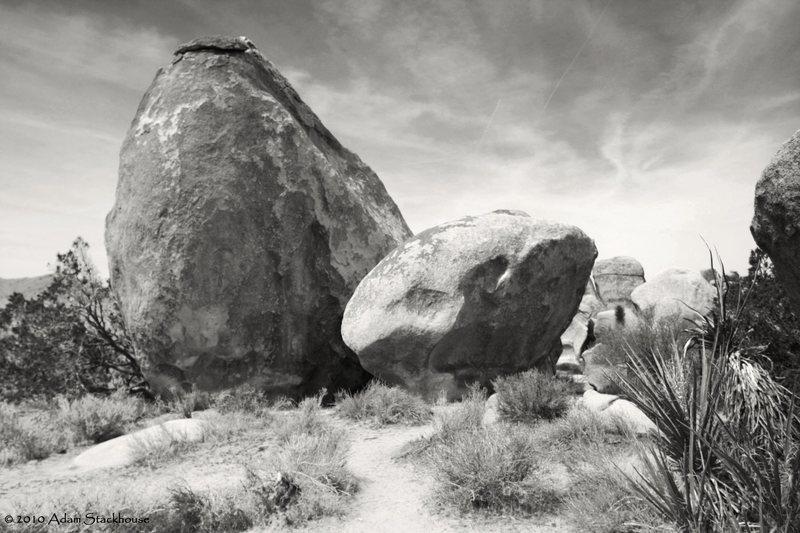 Rock Climbing Photo: Stonehenge Boulders