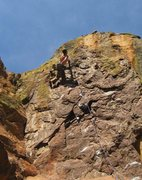 Rock Climbing Photo: Brian K. making it look easy!