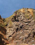 Rock Climbing Photo: Brian K. making it look easy!