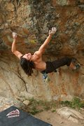 Rock Climbing Photo: Cherokee DiveBomb, Brave Boulders