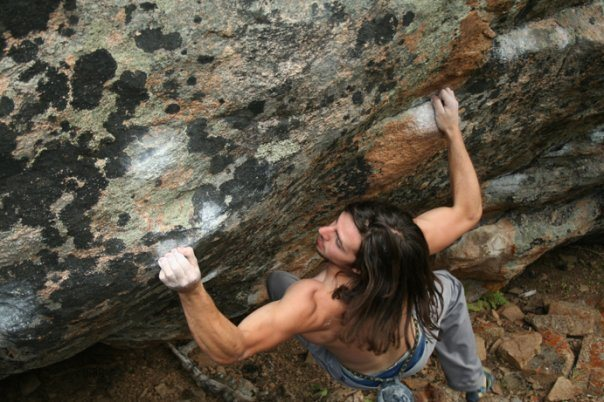Rock Climbing Photo: Proj...