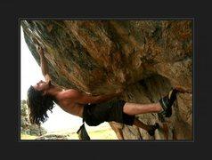 Rock Climbing Photo: Cherokee DiveBomb, Brave Boulders
