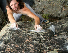 Rock Climbing Photo: Crazy Town, Selection holds eliminated from the Ma...