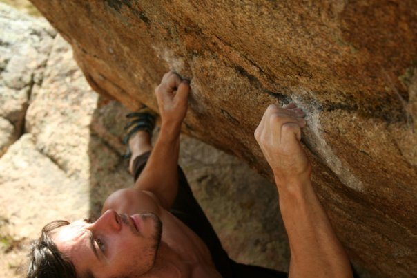 Rock Climbing Photo: Blood Bite, its a really simplistic problem with a...