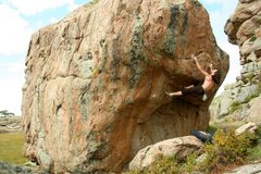 Rock Climbing Photo: Its one huge Boulder, you can't miss this one, it ...