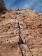 Rock Climbing Photo: Menses.