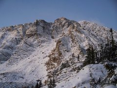 Rock Climbing Photo: North side of Quandary Peak.