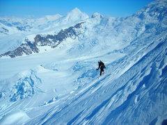 Rock Climbing Photo: Skiing big big big lines.