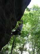 Rock Climbing Photo: Josh on Piss Ant