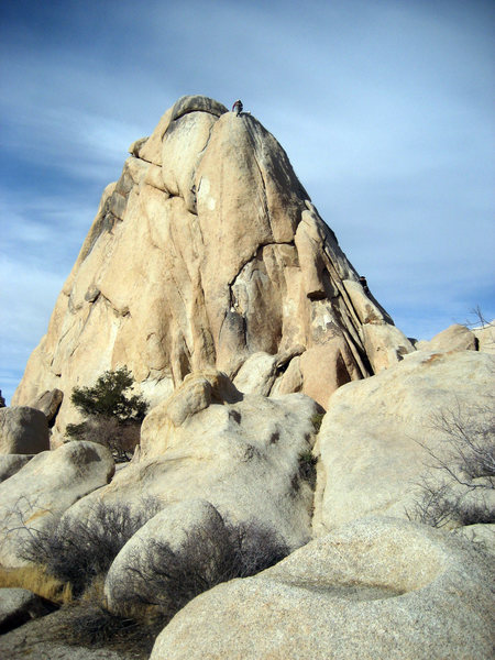 Rock Climbing Photo: First honest 10a attempt in the park, came off at ...