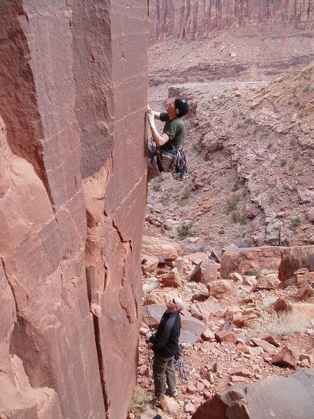 Rock Climbing Photo: Kevin Cahill, Long Canyon