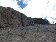 Rock Climbing Photo: Rick, Backflip
