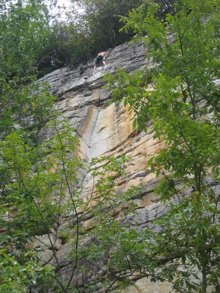 Rock Climbing Photo: Austria at the anchors