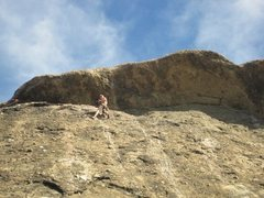 Rock Climbing Photo: Have you ever climbed the GREAT ROOF OF EAGLE ROCK...