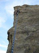 Rock Climbing Photo: Tryin' to stick the Prow