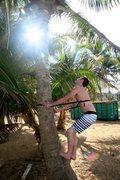 Rock Climbing Photo: I see coconuts!! Kauai