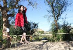 Rock Climbing Photo: Me online, Orange House.  Costa Blanca
