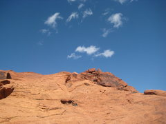 Rock Climbing Photo: somewhere around the second pull-out, Red Rocks, N...