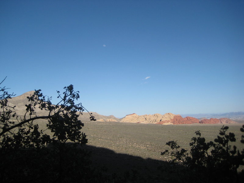 another view of the canyon early in the day