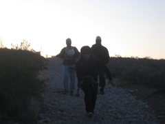 Rock Climbing Photo: most of Team Pinto headed out on the trail early i...
